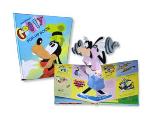 Goofy pop-up book - Waly Disney Press - 1994